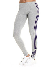 Bottoms - 3 Stripes Trefoil Leggings