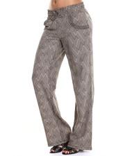 Pants - Palazzo Printed Pant