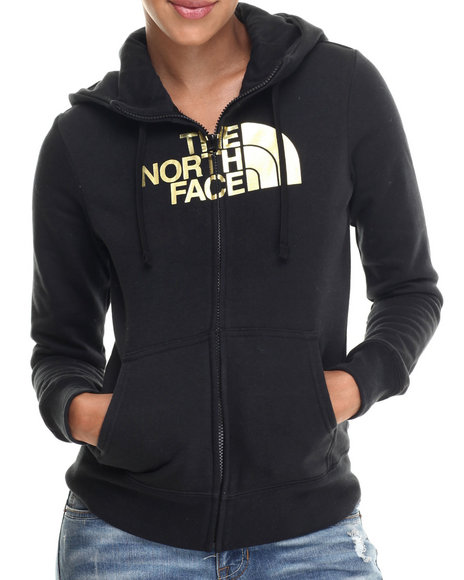 Ur-ID 186436 The North Face - Women Black Half Dome Full Zip Hoodie