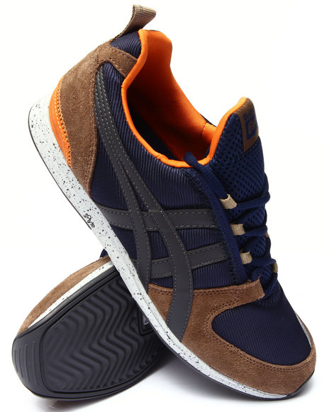 Asics - Men Blue Ult Racer Sneakers