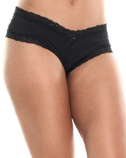 Women - Lace Trim Panties