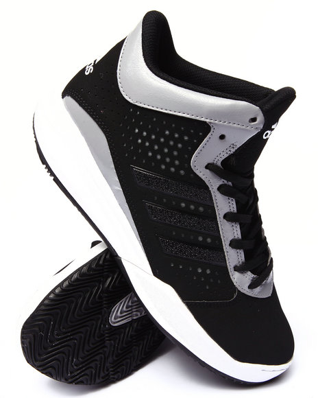Adidas - Men Black,Silver Outrival Sneakers
