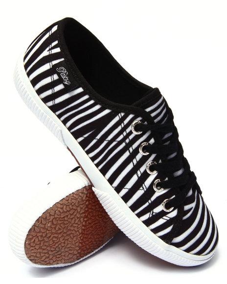 gelato zebra lace up low sneaker