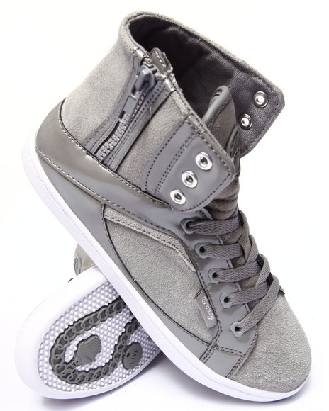 Pastry - Women Grey Smoothie Side Zip Sneaker