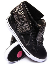 Women - Sugar Rush Studded Zebra Trim Sneaker