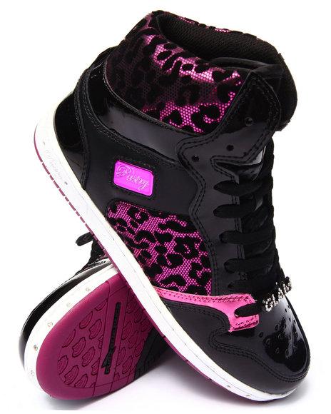 Ur-ID 186552 Pastry - Women Pink Glam Pie Foil Cheetah Sneaker