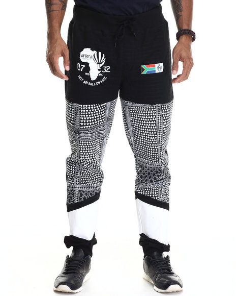 Eight 732 - Men Black Madness Sweatpant