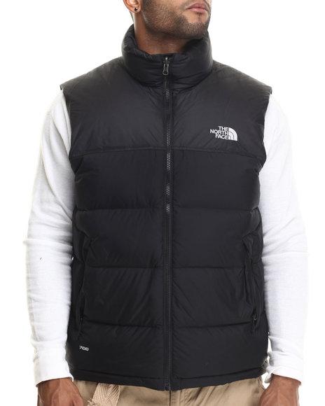 The North Face - Men Black Nuptse Vest