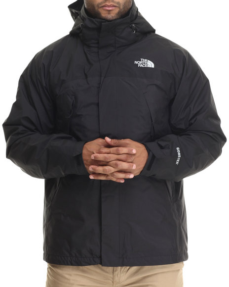 The North Face - Men Black Mountain-Light Waterproof Triclimate Jacket W/Gore Tex