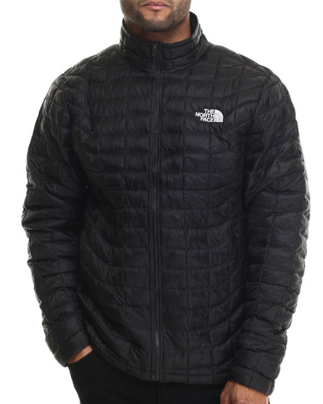 The North Face - Men Black Thermoball Full Zip Jacket