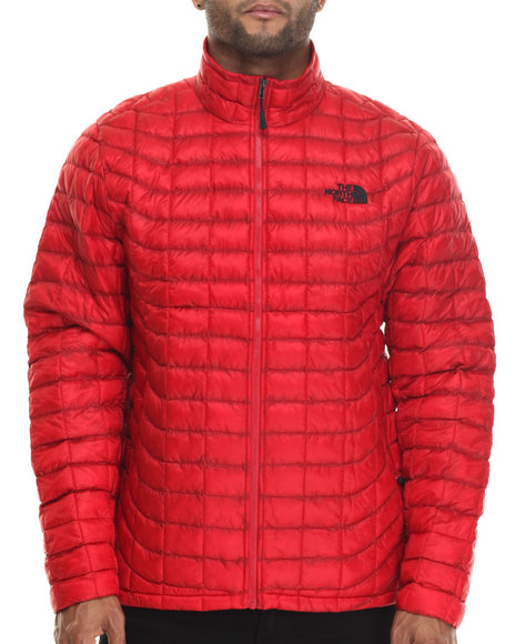 The North Face - Men Red Thermoball Full Zip Jacket