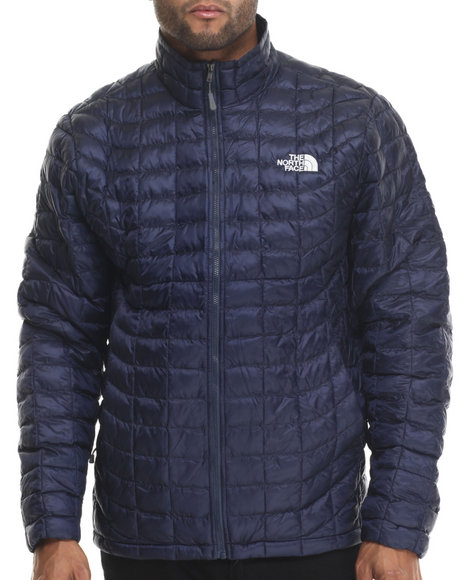 The North Face - Men Navy Thermoball Full Zip Jacket