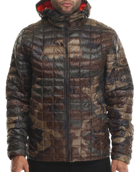 The North Face - Men Camo Thermoball Hoodie Jacket