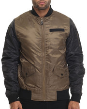Holiday Shop - Men - Diamond Quilted Flight Jacket