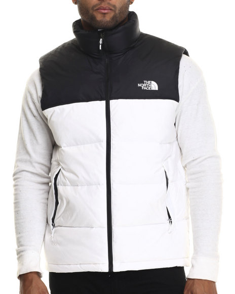 Ur-ID 186586 The North Face - Men White Nuptse Vest
