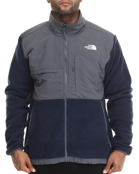 Ur-ID 186592 The North Face - Men Blue Denali Jacket