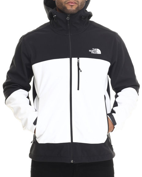 The North Face - Men Black Apex Bionic Hoodie Jacket