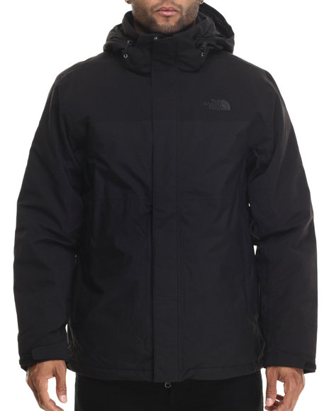 The North Face - Men Black Inlux Insulated Waterproof Jacket
