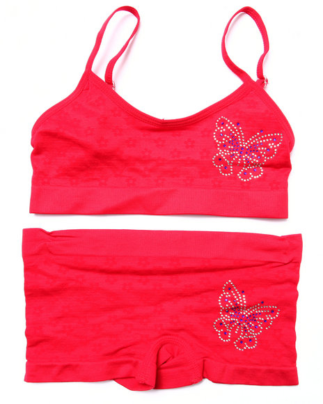 Drj Intimates Shop Red Sets