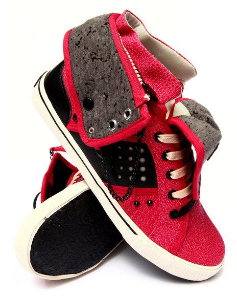 Pastry - Women Black,Red Pinwheel Sneaker