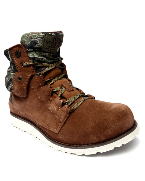 The North Face - Men Brown Ballard Roll Down Boots