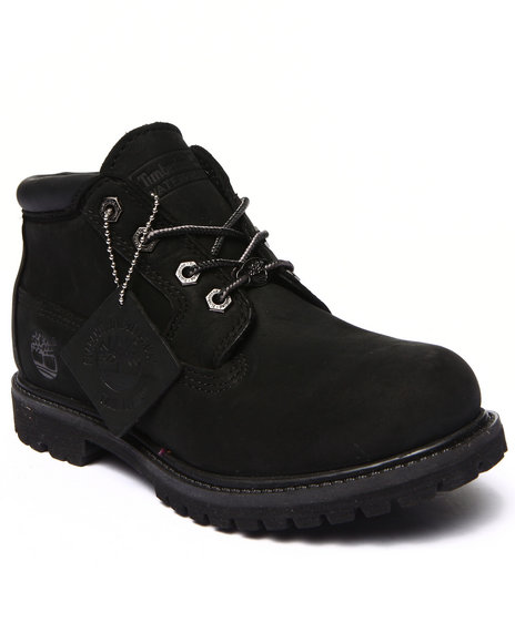Timberlands Black Leather