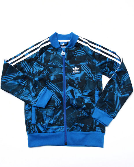 Adidas - Boys Blue Junior Shoebox Fleece J - $50.99