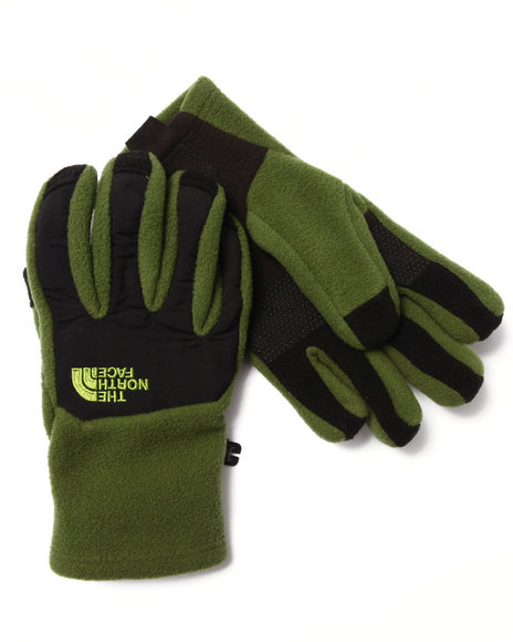 Green Gloves and Scarves
