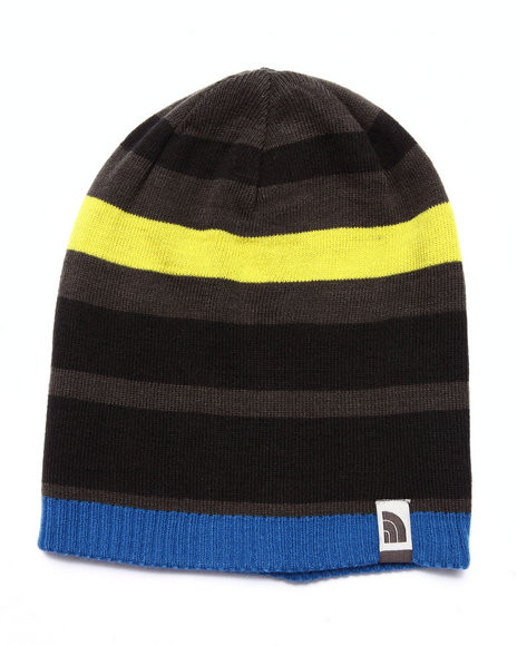The North Face - Boys Blue Reversible Pete N Repeat Beanie