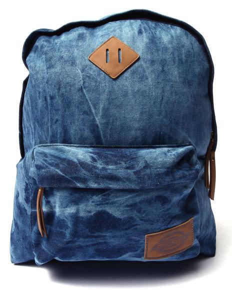 Dickies Men The Classic Backpack Dark Wash