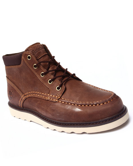 Timberland - Men Brown Newmarket Wedge Moc Toe Chukka Boots