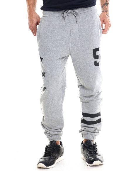 Buyers Picks - Men Grey Athletica Terry Cloth Jooger Pants - $44.00