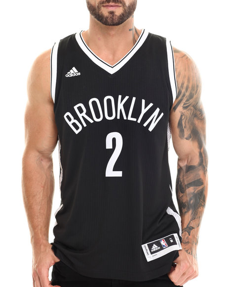 Nba, Mlb, Nfl Gear - Men Black Kevin Garnett Brooklyn Netsauthentic Swingman Jersey