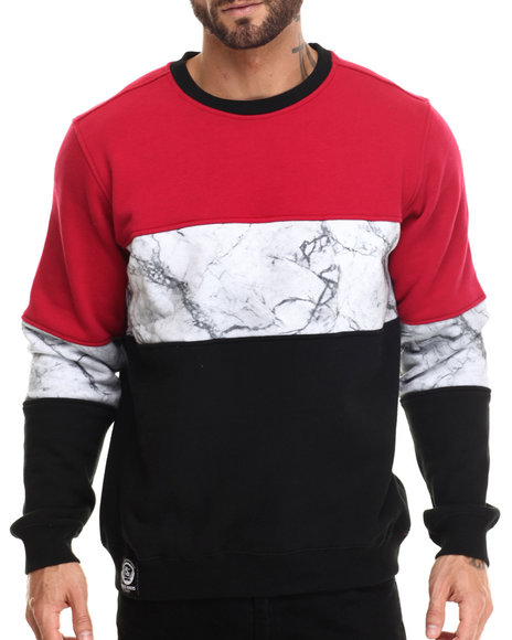 Lrg - Men Black Bridgework Sweatshirt