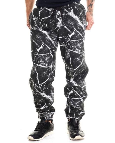 Lrg - Men Black Bridge Makers Sweatpants