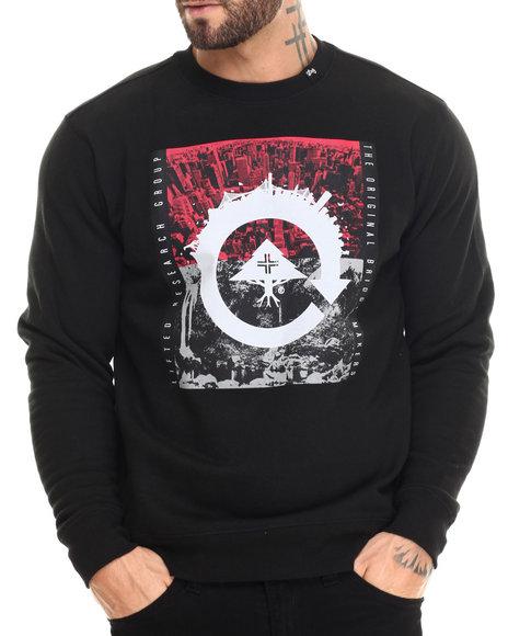 Lrg - Men Black Recycled City Crewneck Sweatshirt