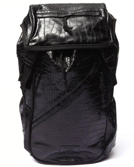 Flud Watches Men Croco Embossed Tech Bag Animal Print