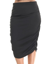 Baby Phat - Caterpillar Rouched Skirt (Plus)