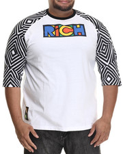 Eight 732 - Make It Rich Raglan (B&T)