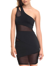 Baby Phat - Back Cut Out One Shoulder Dress