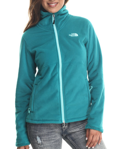 The North Face - Women Teal Morninglory Full Zip Jacket