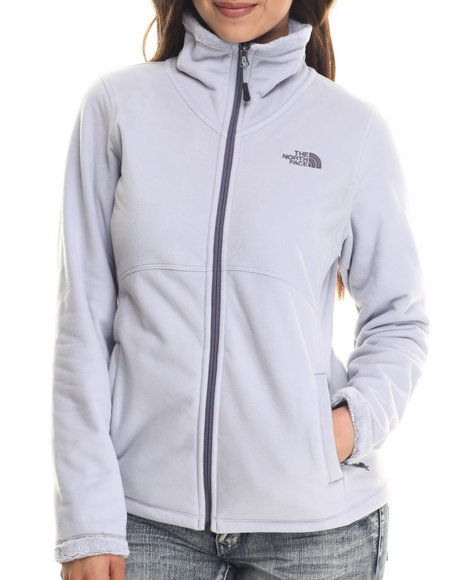 The North Face - Women Grey Morninglory Full Zip Jacket