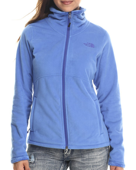 The North Face - Women Blue Morninglory Full Zip Jacket