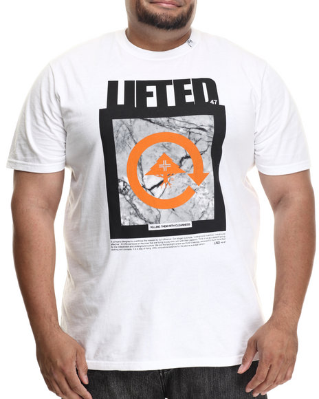 Lrg - Men White Killing Them With Cleanness S/S Tee (B&T) - $30.00