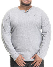 LRG - Independent L/S Henley (B&T)