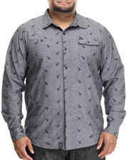LRG - Giraffage L/S Button-Down (B&T)
