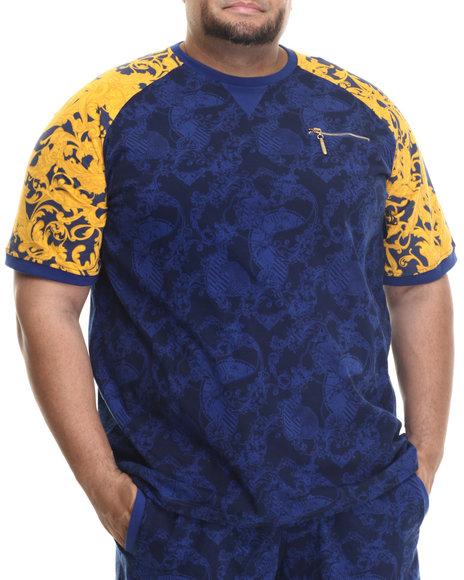 Eight 732 - Men Blue,Navy Laurel Nouvelle Knit T-Shirt (B&T)