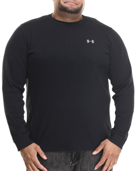 Under Armour Men Amplify L/S Thermal Shirt (Traps Warmth & Anti-Odor Black 3X-Large