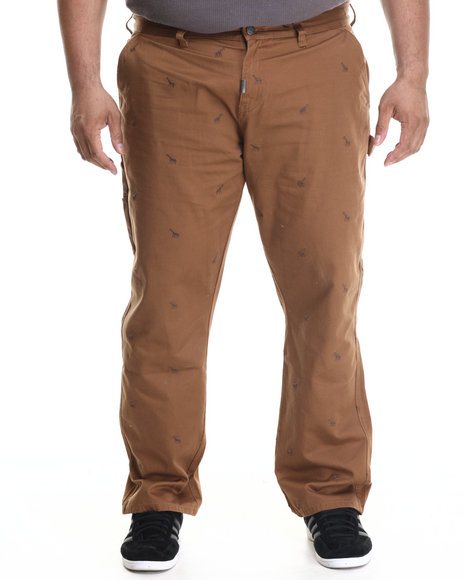 independent thinkers true straight pants  b&t