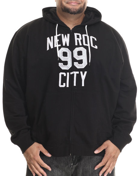 Rocawear - Men Black Nrc 99 Zip Hoodie (B&T) - $26.99